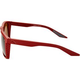 100% Renshaw Glasses soft tact crimson/smoke